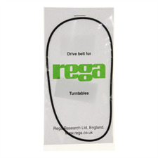 Rega Antriebsriemen für Plattenspieler (für die Modelle P1-P9, RP1-RP6 / schwarz)