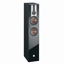 DALI Opticon 6 - 3-Way bass reflex floorstanding loudspeaker (25-200 W / black ash / 1 piece)
