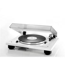 THORENS TD 206 - Plattenspieler (inkl. Thorens Tonarm TP 90 / MM-Tonabnehmer TAS 267 / Hochglanz weiß)