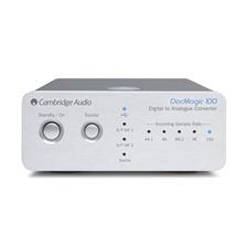 Cambridge Audio DacMagic 100 - Digital/Analog-Wandler (silber / 24 Bit/96 kHz)