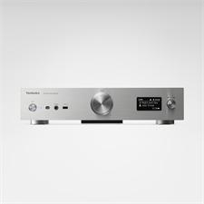 Technics Grand Class SU-G30 - Netzwerk-Audiovollverstärker (MM-Phonoeingang / inkl. Fernbedienung / silber)