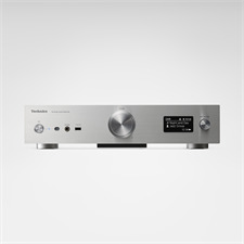 Technics Grand Class SU-G30 - network audio amplifier (high resolution re-master / USB-A / USB-DAC (USB-B) / DLNA / Wi-Fi / Airplay / Bluetooth® / 96 Watts / incl. remote control / silver)