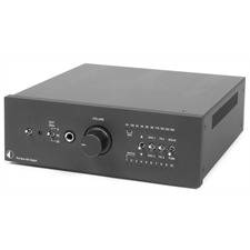 Pro-Ject Pre Box RS Digital – digitaler High-end Vorverstärker (DAC / XLR / Kopfhörerverstärker / inkl. IR Fernbedienung / schwarz)