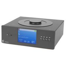 Pro-Ject CD Box RS - Highend CD-Player (Toplader CD Laufwerk / CD Audio / CD-R / CD-RW / Hybrid SACD / inkl. IR Fernbedienung / schwarz)