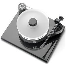 Pro-Ject RPM 10.1 Evolution - manueller Plattenspieler (inkl. 10cc Evolution Tonarm / inkl. Gerätebasis / Pianolack anthrazit/grau)