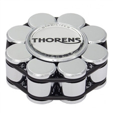 THORENS Stabilizer - Schallplattenauflagegewicht (für Plattenspieler / in chrom / wird in Holzbox geliefert)
