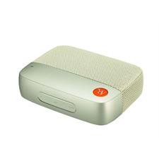 Acoustic Research AR-Flash 1.0 - tragbarer Mini Bluetooth-Lautsprecher (kabellose Bluetooth Verbindung / Audio-Codec = Qualcomm aptX / 10 Watt - 2 x 5 W RMS / in weißer Ausführung)