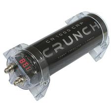 CRUNCH CR-1000 CAP - Leistungskondensator (1.0 Farad Kapazität / hochwertig verarbeiteter Powercap)