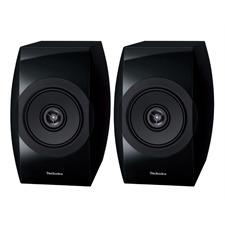 Technics SB-C700 - 2-Wege Bassreflex-Kompaktlautsprecher (100 Watt max. Eingangsleistung / koaxial / Hochglanz schwarz / 1 Paar)