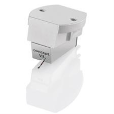 Clearaudio  Concept V2 - MM-Tonabnehmersystem für Plattenspieler (Aluminium-Gehäuse / Moving Magnet Technologie)
