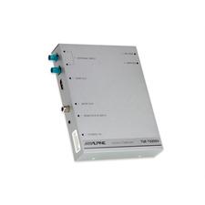 ALPINE TUE-T220DV - mobiler digitaler TV-Empfänger (DVB-T2 / inkl. 2 Antennen, Fernbedienung, HDMI Ausgang)
