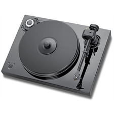 Pro-Ject 2-Xperience SB SuperPack - Plattenspieler inkl. Tonarm + Ortofon MM-Tonabnehmer 2M Bronze + Speedbox (schwarz / elektronische Drehzahlregelung / Tonarmkabel / Staubschutzhaube)