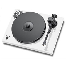 Pro-Ject 2-Xperience SB SuperPack - Plattenspieler inkl. Tonarm + Ortofon MM-Tonabnehmer 2M Bronze + Speedbox (weiß / Drehzahlregelung / Tonarmkabel / Staubschutzhaube)