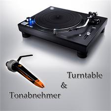 Technics + Ortofon PACKAGE OFFER: TECHNICS - Grand Class SL-1210GR - record player (black) + ORTOFON - Concorde - Nightclub MKII - cartridge
