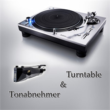 Technics + Ortofon PACKAGE OFFER: TECHNICS - Grand Class SL-1200GR - record player (silver) + ORTOFON - 2M Black PnP - MM cartridge