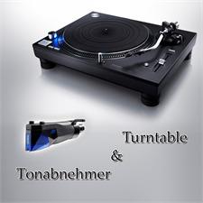 Technics + Ortofon PAKETANGEBOT: TECHNICS - Grand Class SL-1210GR - Plattenspieler (schwarz) + ORTOFON - 2M Blue PnP - MM-Tonabnehmer