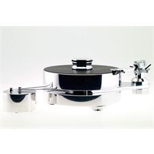 Transrotor FAT BOB S TMD - High-End Plattenspieler + Benz Micro - MC Gold - MC-Tonabnehmer (inkl. Transrotor - TR800-S - Tonarm / in silberner Ausführung) Sonderpreis - UVP = 4.075,- Euro