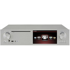 Cocktail Audio X35 ohne Festplatte (silber / All-in-One HD Musikserver mit Verstärker/CD-Ripper/DAC/DAB+/FM /DSD/PCM/FLAC/MM-Phonoeingang/TIDAL /Qobuz/Highres-Audio)
