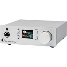 Pro-Ject Pre Box S2 Digital - audiophiler Digital Mikro-Vorverstärker (mit MQA + DSD512 + roon Support / RCA Pre-Ausgang rückseitig / weiß)