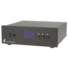 Pro-Ject Tuner Box S2 - UKW-Tuner im Miniaturformat (Hochkontrast-Dot-Matrix Display / inkl. IR Fernbedienung / inkl. Netzteil / schwarz)