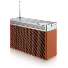 Geneva Touring/L - portabler Bluetooth-Lautsprecher (FM / DAB+ / Bluetooth / cognac)
