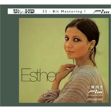 Sieveking Sound Esther Ofarim: Esther - UHD-CD (Audio UHD-CD / Digipack / ATR-UltraHD Compact Disc / Ultra-HD 32-Bit-Mastering / 12 Titel / neu & original verschweißt / ATR UHD 001)