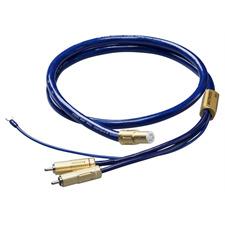 Ortofon 6NX-TSW 1010 - Tonarmkabel mit Masseleitung (RCA/5-Pin / 1,20 m / blau/gold)