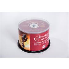Sieveking Sound Audiophile 24-Karat-Gold CD-R Rohlinge (50 Stück / in Spindel / ohne Hülle / Nachfolger MFSL Ultradisc)