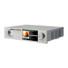 Cocktail Audio X45 ohne Festplatte (silber / All-in-One HD Musikserver mit Dual Mono DAC/CD-Ripper/DAC/DAB+/FM /DSD/PCM/FLAC/MM-Phonoeingang/TIDAL /Qobuz/Highres-Audio)