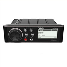 FUSION MS-RA70 - Marine Entertainment System (Bluetooth A2DP / 200 Watt / AM/FM / AUX / schwarz)