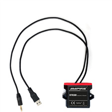 Ampire BTR300 - Bluetooth 4.0 Receiver - Bluetooth-Adapter mit Auto-Remote Funktion und 3,5 mm Klinken-Anschluss (zum Musikstreaming / A2DP / AVRCP / HFP / HID-Audio-Streaming)