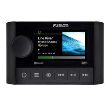 FUSION MS-SRX400 - Apollo Marine Zonen System mit eingebautem WLAN (Bluetooth A2DP / 140 Watt / AM/FM / UPnP / schwarz)