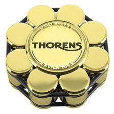 THORENS Stabilizer - Schallplattenauflagegewicht (für Plattenspieler / in gold / wird in Holzbox geliefert)