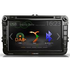 Zenec Z-E2050 - E>GO Navigationsgerät bzw. fahrzeugspezifischer Naviceiver für VW, SEAT und SKODA Modelle (DAB+ Infotainer mit 20,3 cm TFT Bildschirm / BT / für iPod/iPhone gemacht)
