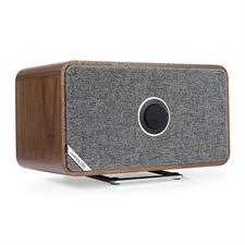 ruarkaudio MRx - verbundener kabelloser Bluetooth-Lautsprecher (Bluetooth / 20 Watt / linearer Klasse A-B Verstärker / Apt-x-Bluetooth / Quer- oder Hochformat / Walnuss Echtholzfurnier)