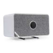 ruarkaudio MRx - verbundener kabelloser Bluetooth-Lautsprecher (Bluetooth / 20 Watt / linearer Klasse A-B Verstärker / Apt-x-Bluetooth / Quer- oder Hochformat / matt grau)