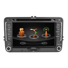 Zenec Z-E2026 - E>GO Navigationsgerät bzw. fahrzeugspezifischer Naviceiver für VW, SEAT und SKODA Modelle (DAB+ Infotainer mit 17,8 cm TFT Bildschirm / BT / für iPod/iPhone gemacht)