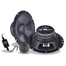 Axton AE652C - 2-Wege Lautsprecher-Komponentensystem (16 cm / 6,5 Zoll / 110 Watt Nennbelastbarkeit / langlebige Konstruktion / Teil der Evolution Serie)