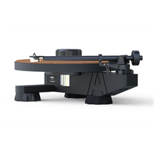 AVID Ingenium Plug & Play - Plattenspieler (33 & 45 U/min / inkl. AVID TA-1 - Tonarm / inkl. AVID CA-1 - MM-Tonabnehmer / schwarz)
