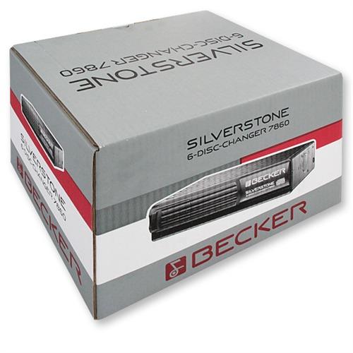 becker 7860 silverstone 6 fach cd wechsler schwarz. Black Bedroom Furniture Sets. Home Design Ideas