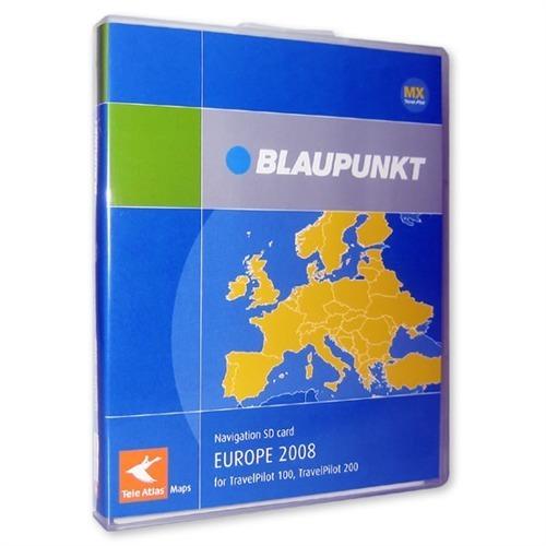 tele atlas europa travelpilot 100 200 mx blaupunkt sd. Black Bedroom Furniture Sets. Home Design Ideas