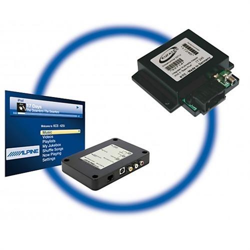 Kufatec Original Vw Audi Ipod Adapter With: Kufatec Audi RNS-E IPod Video Interface + IMA Multimedia