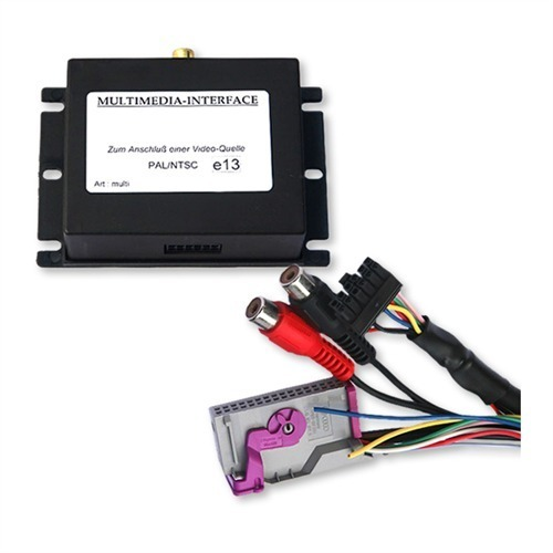 Audio-Video-Interface-1x-AV-Steuer-RFK-AUDI-RNS-E-A3-S3-8P-8PA-A4-8E-B6-B7-A6