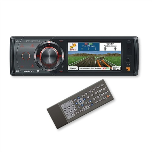 kienzle dvd 1030nav tmc 1 din radio navigation mit 3 5. Black Bedroom Furniture Sets. Home Design Ideas