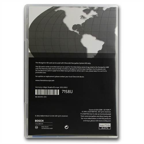 navteq deutschland mre sd karte 2011 2012 f r. Black Bedroom Furniture Sets. Home Design Ideas