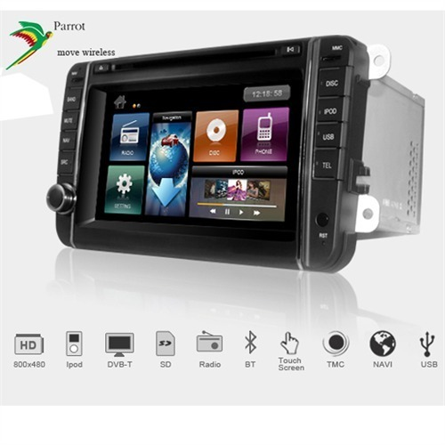 DYNAVIN DVN-VW - 2-DIN Multimediagerät HD USB DVD-Player Radio FM ...