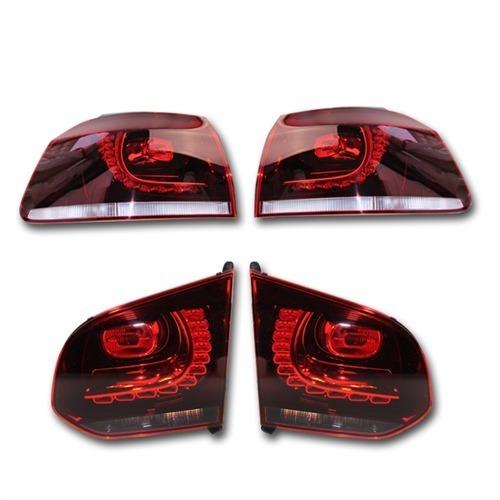 LED-Heckleuchten-VW-Golf-6-VI-Ruckleuchten-Komplett-Set-Volkswagen-Kufatec-37656