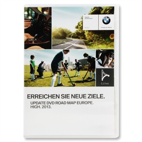 Bmw Z4 Update: BMW Update DVD EUROPA Europe Road Map High 2013 MK4 MK 4