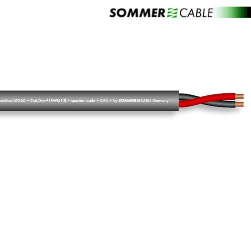 Sommer Cable SP260 - SC-MERIDIAN - Lautsprecherkabel (1 m / 2x6,0 ...