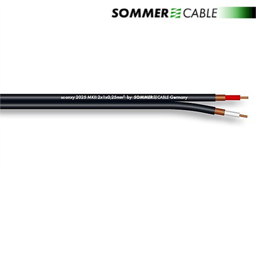 Sommer Cable 320-0101 - SC-ONYX 2025 MKII - Instrument and Patch Cable (1 m
